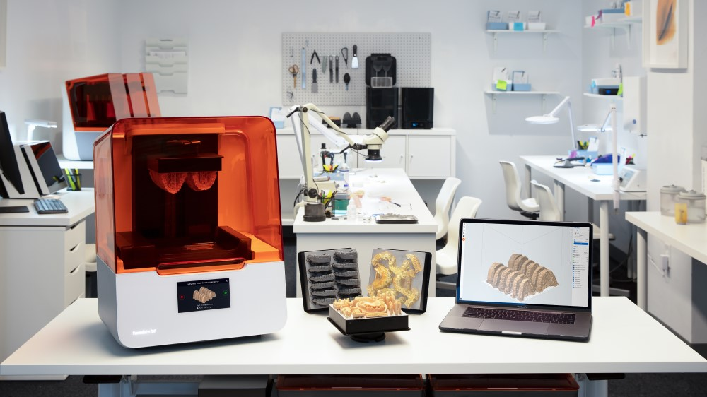 Live Printing with Formlabs Dental: Learn about Formlabs Easiest to Use 3D Printers (in inglese)