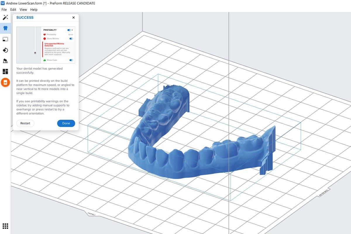 dental design cad software