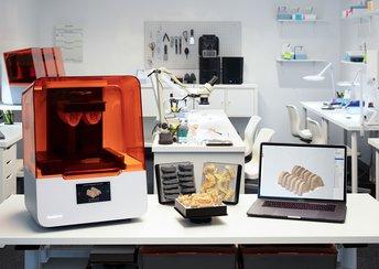 surligner l'image pour Lancement d'une nouvelle plate-forme d'impression 3D conçue pour le dentaire.