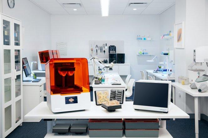 dental lab for 3d printing